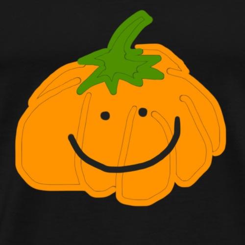 Cute and friendly Halloween pumpkin - Men's Premium T-Shirt