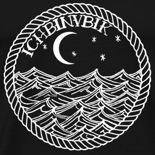 Die Lichter das Meer Rücken - Männer Premium T-Shirt