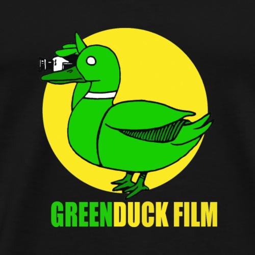 Greenduck Film In the Sun Logo - Herre premium T-shirt