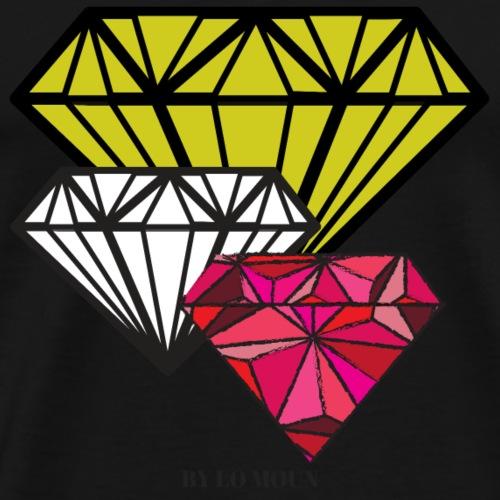 3 DIAMANTS - T-shirt Premium Homme