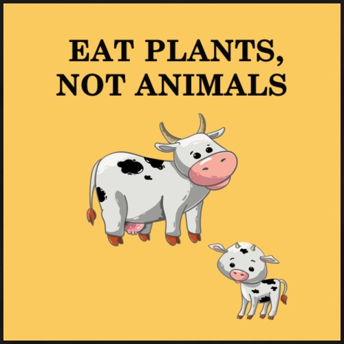 EAT plant not animal - T-shirt Premium Homme