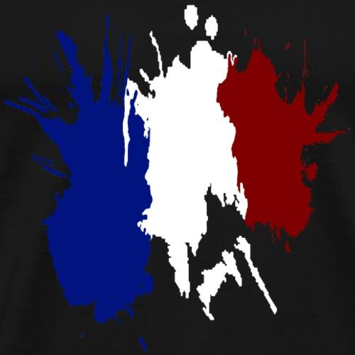 Drapeau Tricolore France 2018 - T-shirt Premium Homme