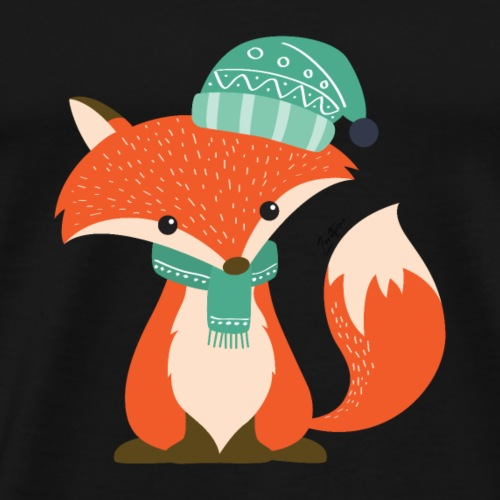 The Fox - Maglietta Premium da uomo