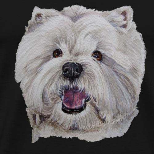 westhighland White terrier - Herre premium T-shirt