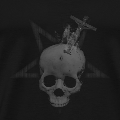 The Skull and the Cross - T-shirt Premium Homme