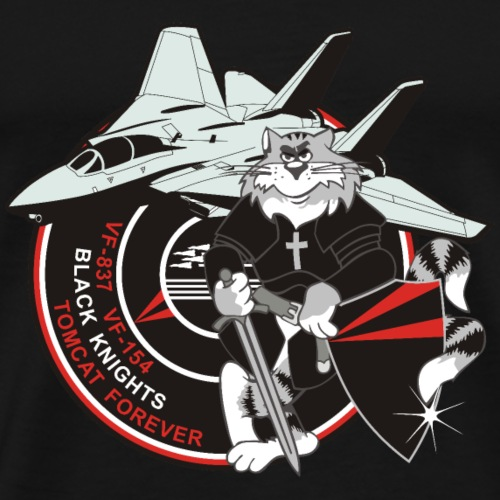 Black Knights - Tomcat Forever - Men's Premium T-Shirt