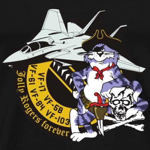 Tomcat - Jolly Rogers Forever - Men's Premium T-Shirt