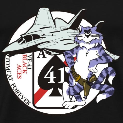 Black Aces - Tomcat Forever - Men's Premium T-Shirt