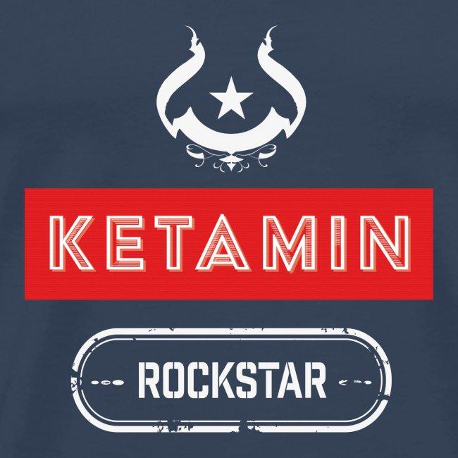 KETAMIN Rock Star - White/Red - Modern