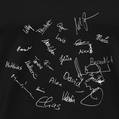 USA Tour Unterschriften - Männer Premium T-Shirt