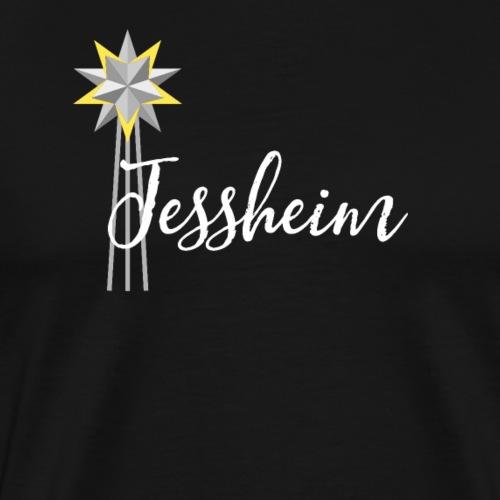 Jessheim Kepler Stjerne - Premium T-skjorte for menn