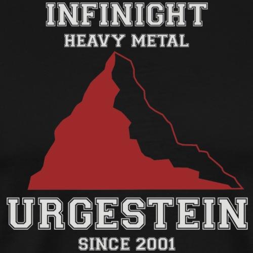 IN Urgestein Gipfel hell - Männer Premium T-Shirt