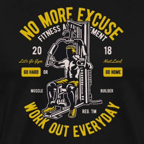 Work Out Everyday Sports - Männer Premium T-Shirt