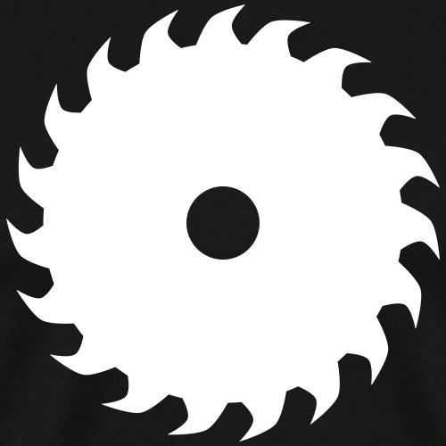 Sägeblatt Kreissäge - Männer Premium T-Shirt