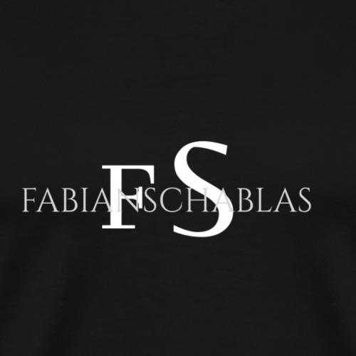 SCHABLAS BLACK - Männer Premium T-Shirt