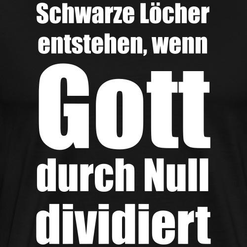 Schwarze Löcher - Männer Premium T-Shirt