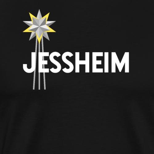 Jessheim Keplerstjernen Kepler Star - Premium T-skjorte for menn