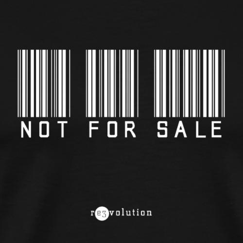 NOT FOR SALE - Camiseta premium hombre