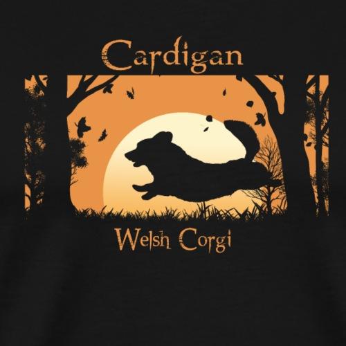 Herbstlauf Cardigan - Männer Premium T-Shirt
