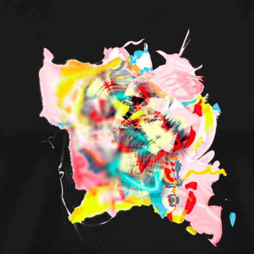 G painter 64ter. Rose - T-shirt Premium Homme