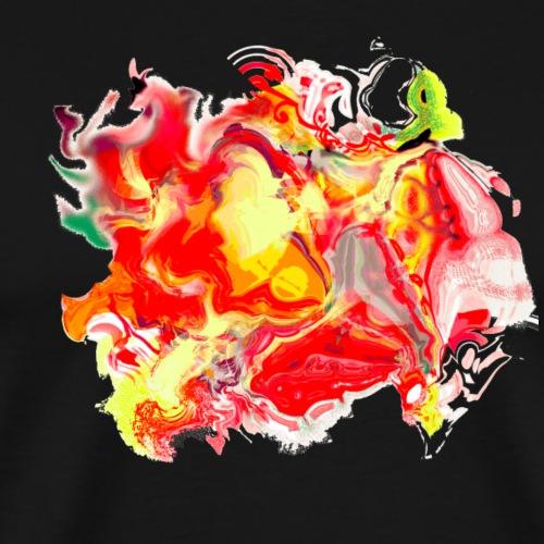 G painter 72ter. Contrastée - T-shirt Premium Homme