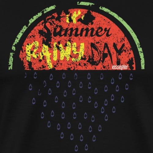 eissegler summer melon rain - Männer Premium T-Shirt