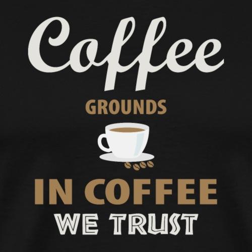 Kaffee - Männer Premium T-Shirt