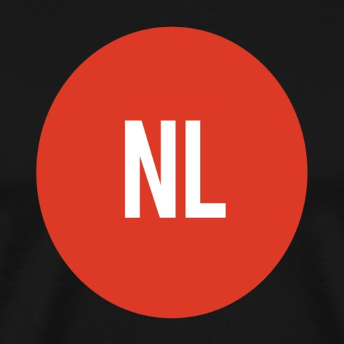 NL logo - Mannen Premium T-shirt