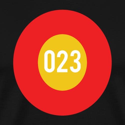 023 logo - Mannen Premium T-shirt