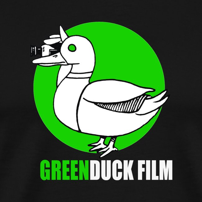 Greenduck Film Ghost Duck Logo White Letters