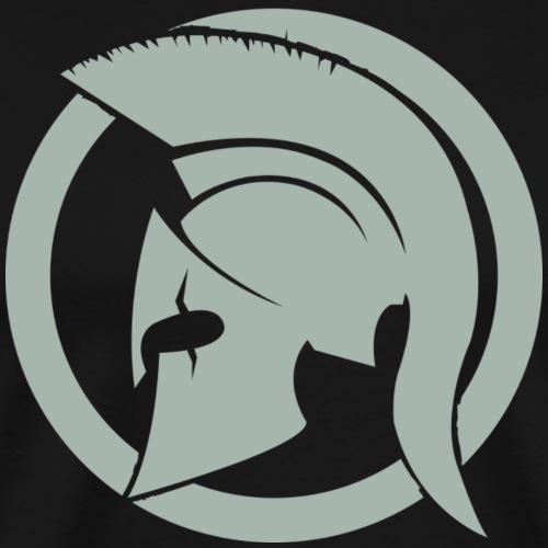 Spartan gris clair - T-shirt Premium Homme