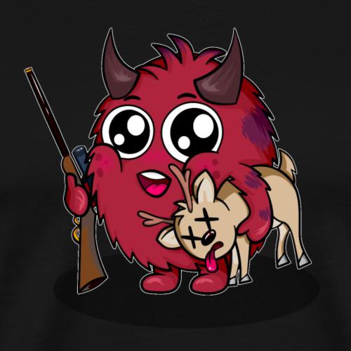 Flauschiger Jäger - Männer Premium T-Shirt