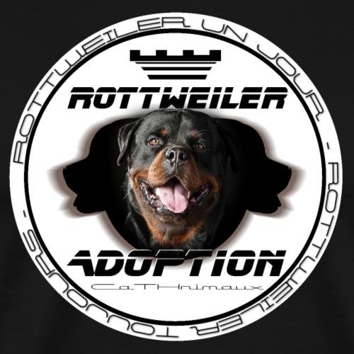 FAKIR Rottweiler médaillon - T-shirt Premium Homme