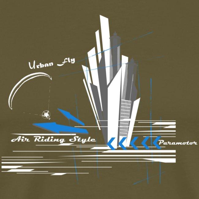 Libert'All Paramoteur Urban Fly bleu