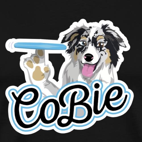 DogFrisbee Design For Florian - Men's Premium T-Shirt