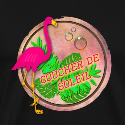 flamingo - T-shirt Premium Homme