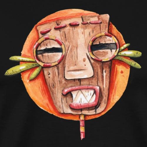 Afrikanische Maske - Männer Premium T-Shirt