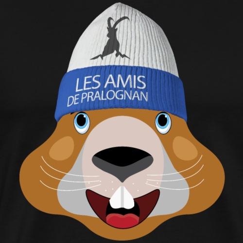 tete marmotte bonnet - T-shirt Premium Homme
