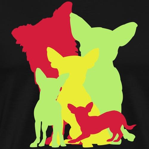 Chihuahua Gruppe 2 - Männer Premium T-Shirt