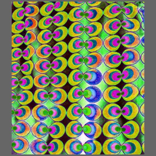 Tessuto pop-art - Maglietta Premium da uomo