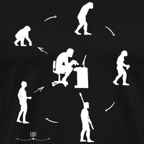 Circle of Evolution - Männer Premium T-Shirt