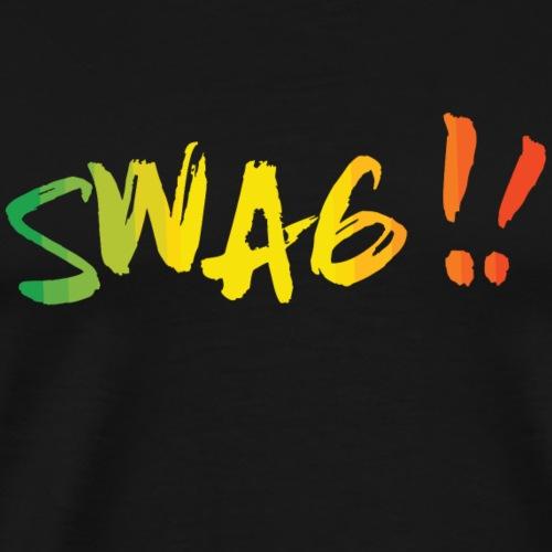 rainbow swag créol - T-shirt Premium Homme