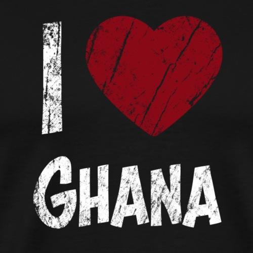 Kocham Ghana - Koszulka męska Premium