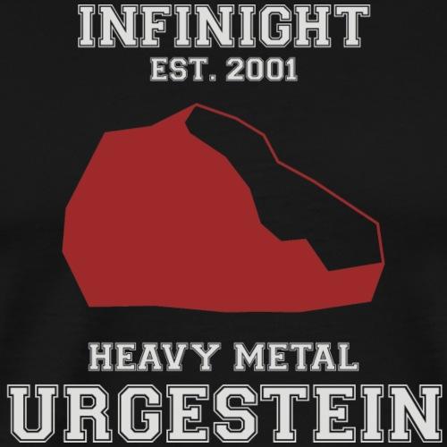 IN Urgestein Kiesel - Männer Premium T-Shirt