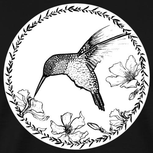 Kolibri Blüten Kreis