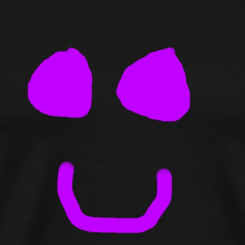 Simple Smile Purple - T-shirt Premium Homme