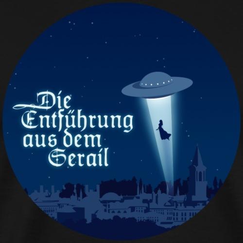 Die Entführung aus dem Serail: Ufo im Kreis - Men's Premium T-Shirt
