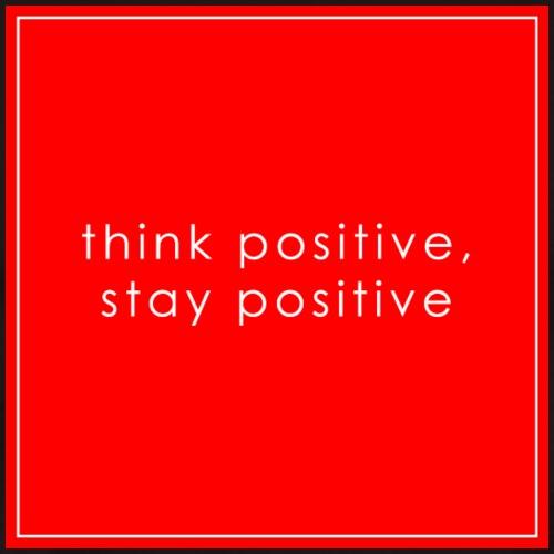 think positive 03 - Men's Premium T-Shirt
