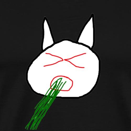 Vomitting cat - T-shirt Premium Homme