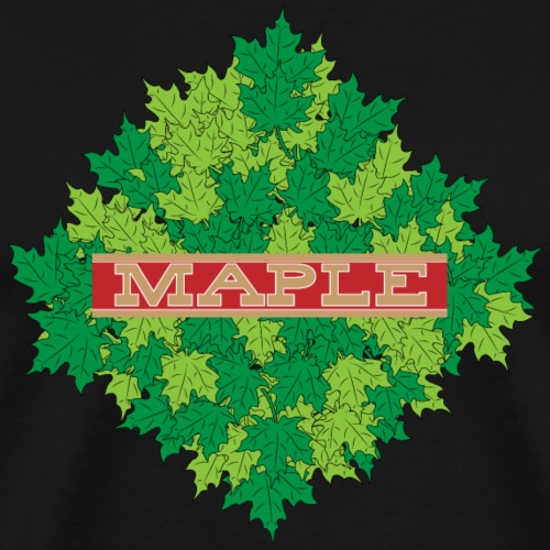 maple - Männer Premium T-Shirt